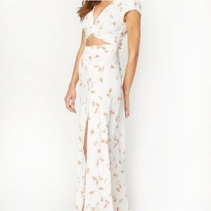 Flynn Skye Optic Blooms All Wrapped Up Maxi NWT